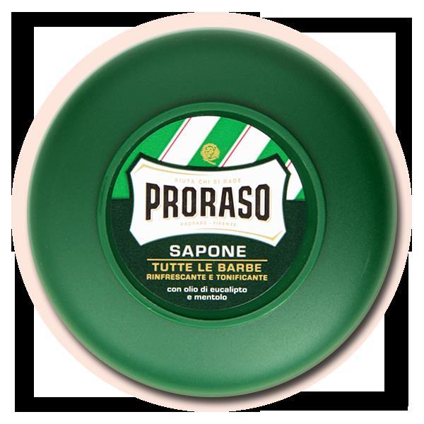 Σαπούνι ξυρίσματος PRORASO με ευκάλυπτο, μενθόλη και γλυκερίνη
