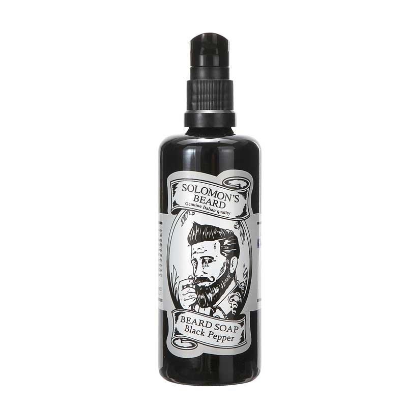 SOLOMON'S BEARD SOAP BLACK PEPPER