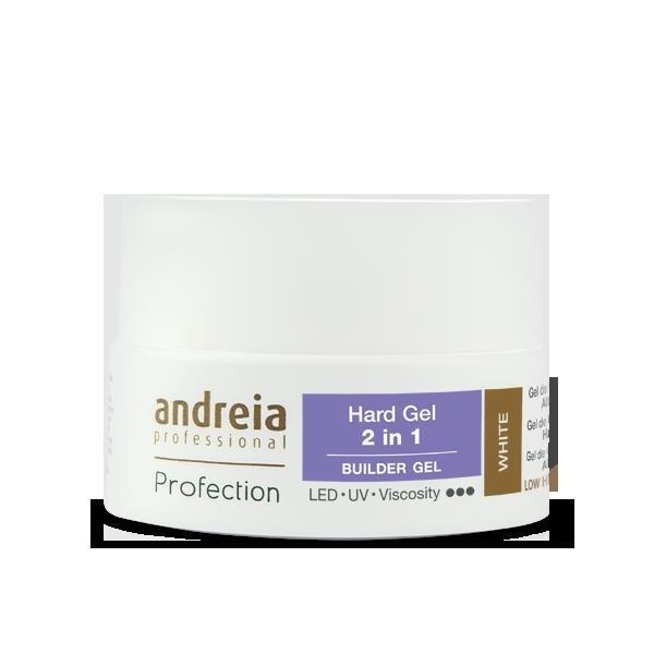 Andreia Builder Gel white 2 in 1 22 gr